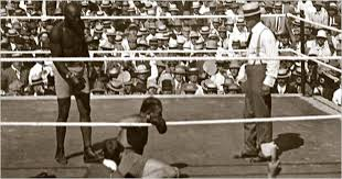 Jack Johnson Boxing Knockout