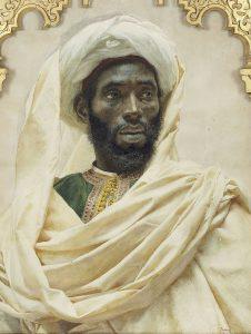 Moors Hebrew Israelite in White Turban