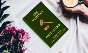 The Verdict Book On Table