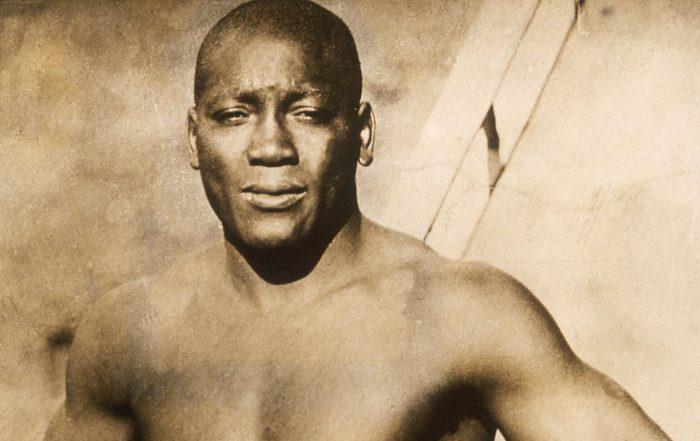 Jack Johnson Heavyweight Boxing Champion