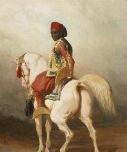 Black Hebrew Israelite Moor on Horse